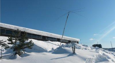 Antenne-status på Geiteryggen - 9.mars 2018
