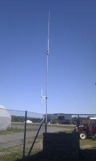 LA1G Geiteryggen - demonterte antenner.